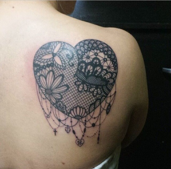 Lace Tattoo designs49