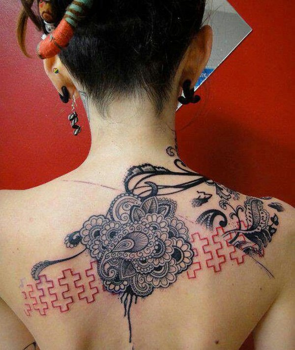 Lace Tattoo designs55