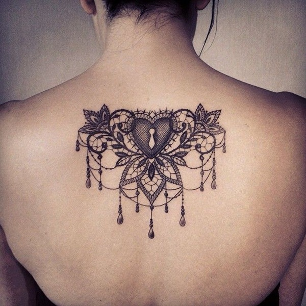 101 Elegant Lace Tattoo Designs That Fit For Any Girl