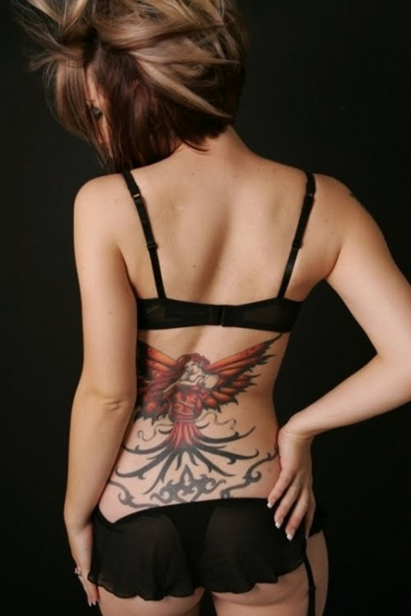 Lower back tattoo designs for women22
