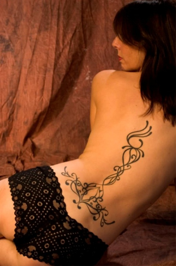 Lower back tattoo designs for women23