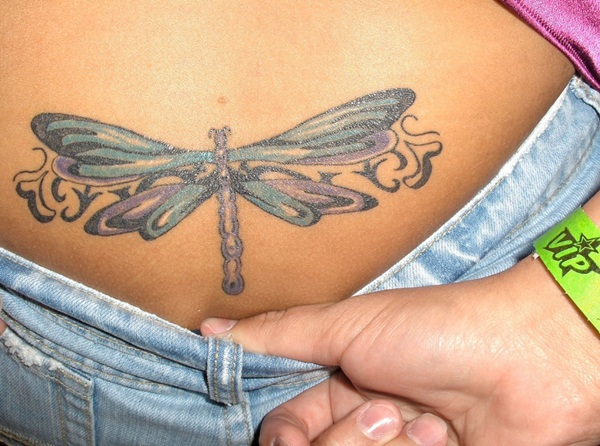 Lower back tattoo designs for women27