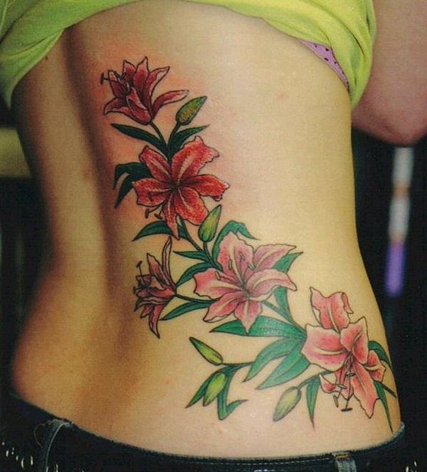 Lower back tattoo designs for women35