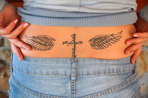 Lower back tattoo designs for women37