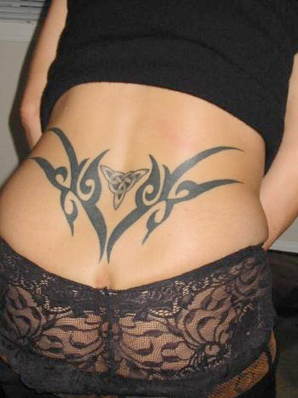 Lower back tattoo designs for women39