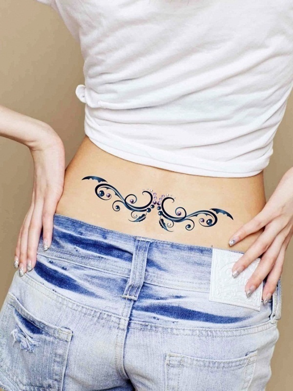 Lower back tattoo designs for women5