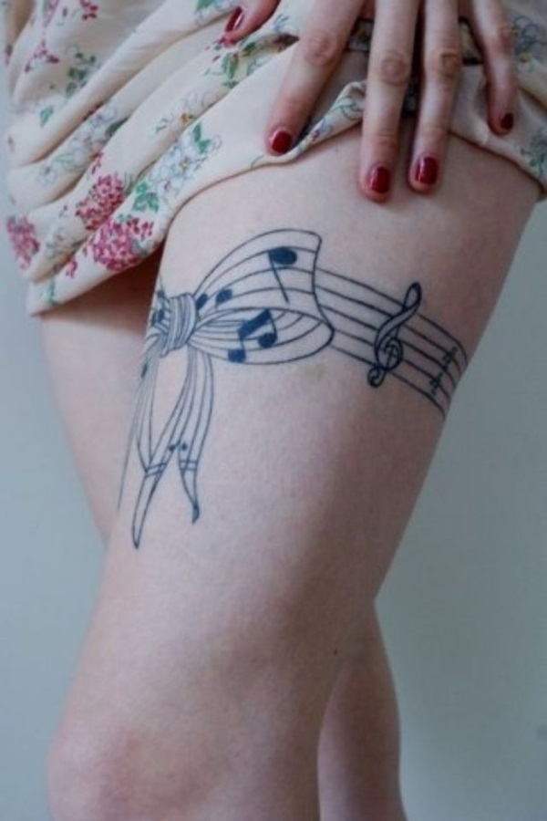 Music tattoo designs 11