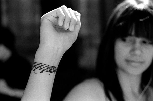 Music tattoo designs 17