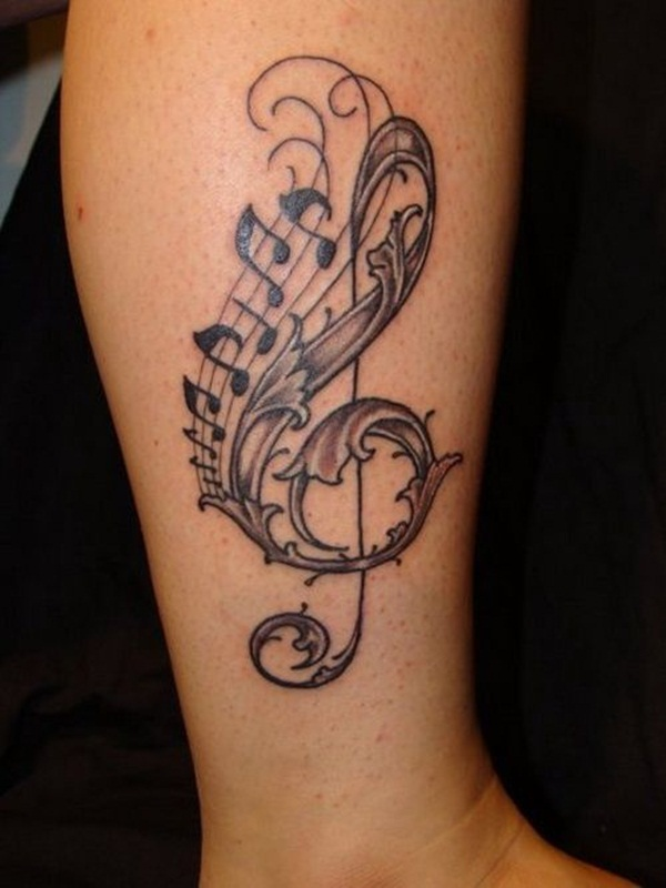 Music tattoo designs 18