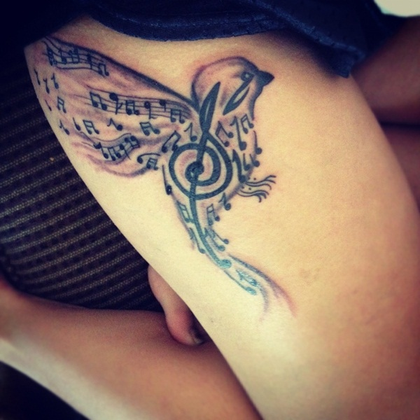 Music tattoo designs 2
