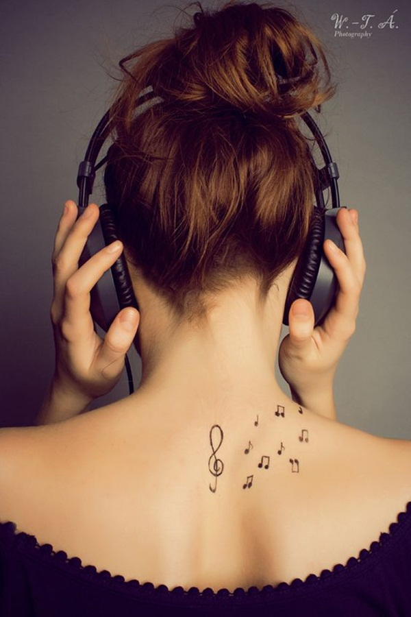 Music tattoo designs 20