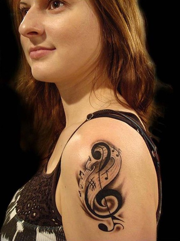 Music tattoo designs 22