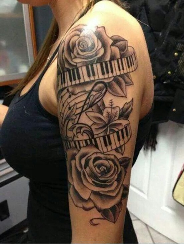 145 Rockin' Music Tattoos That Will have You Singing