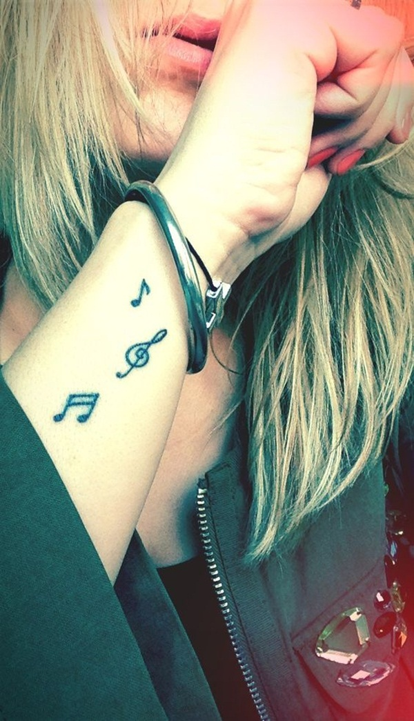 Music tattoo designs 25