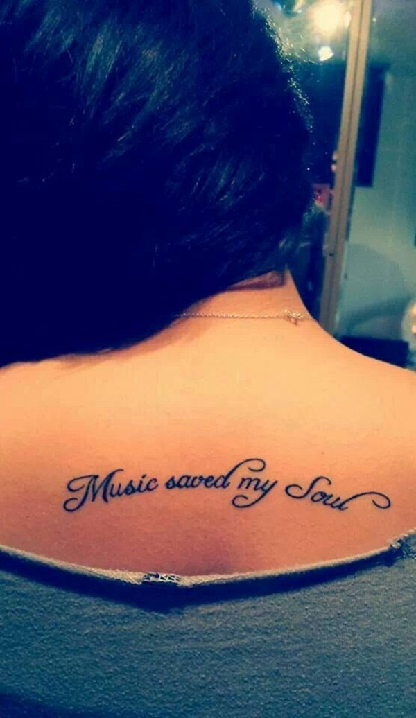 Music tattoo designs 26