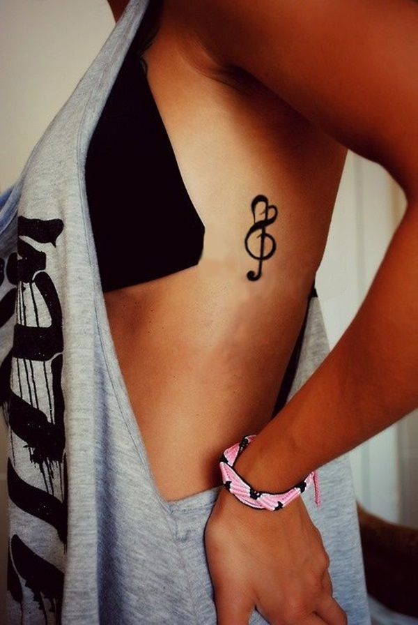 Music tattoo designs 27