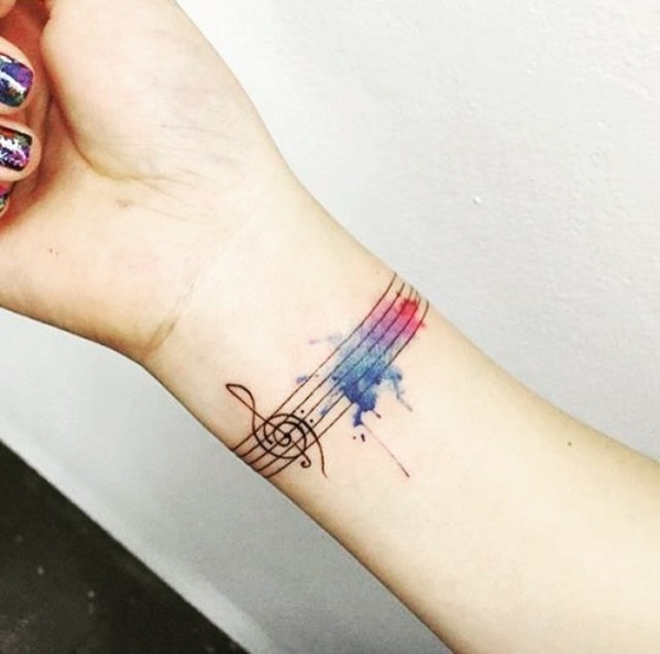 Music tattoo designs 3