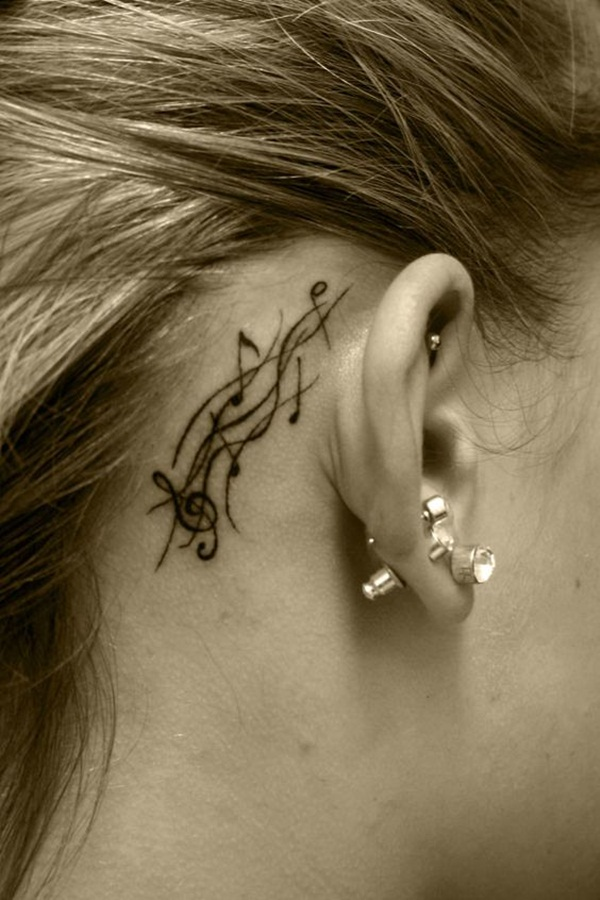 Music tattoo designs 30