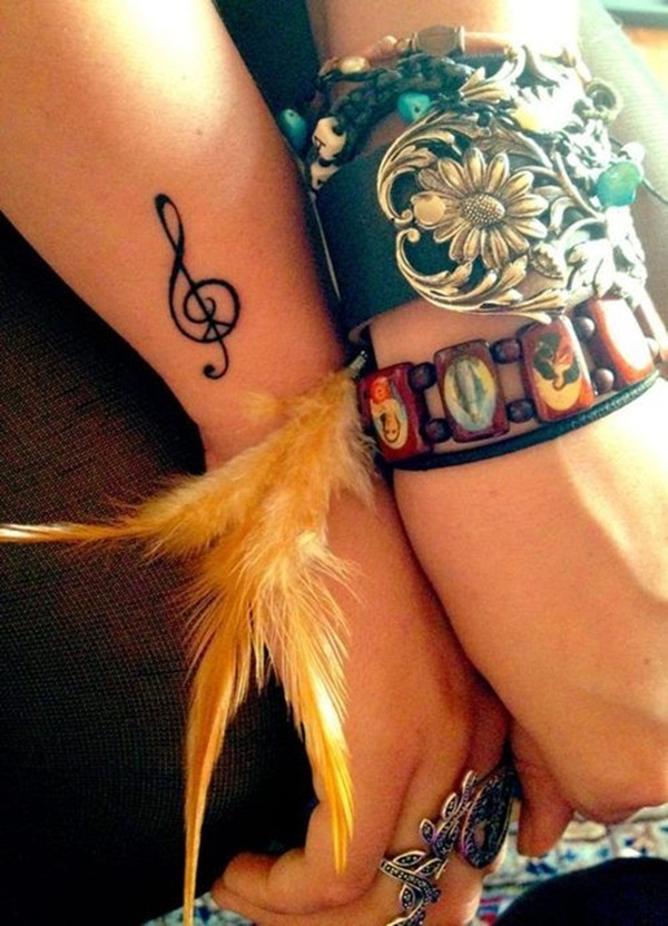 Music tattoo designs 31