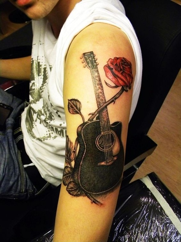 Music tattoo designs 33