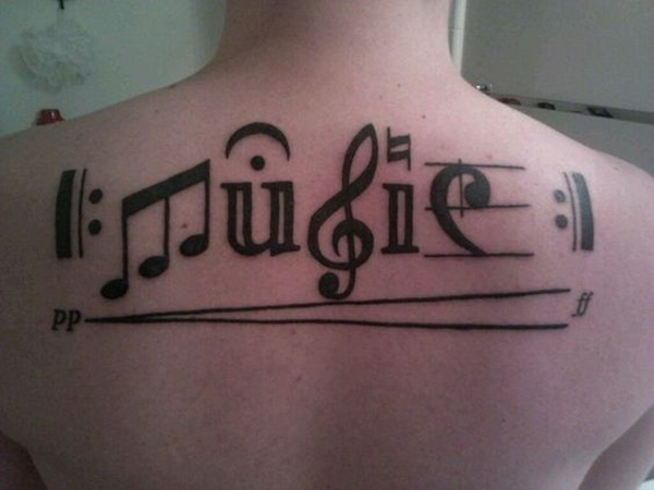 Music tattoo designs 39