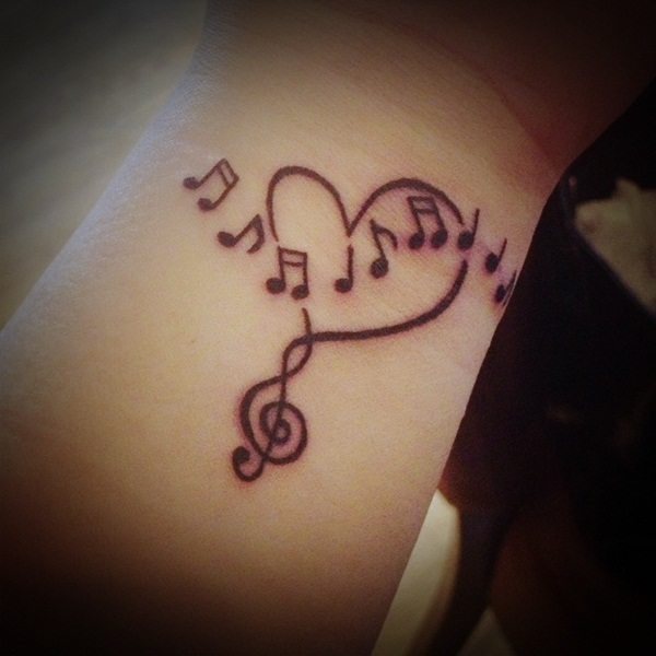 Music tattoo designs 4