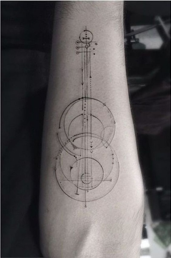 Music tattoo designs 41