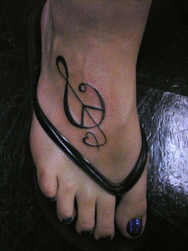 Music tattoo designs 47