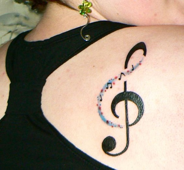 Music tattoo designs 49