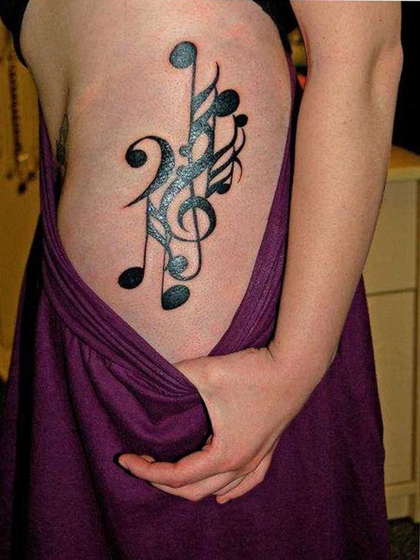 Music tattoo designs 5