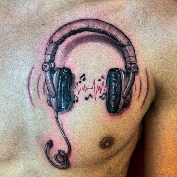 Music tattoo designs 50