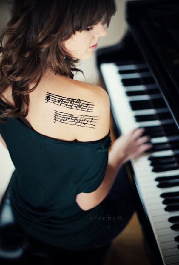 Music tattoo designs 53