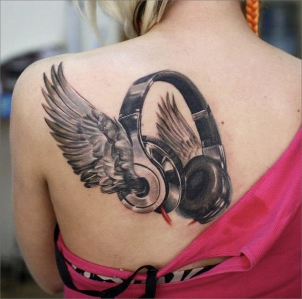 Music tattoo designs 59