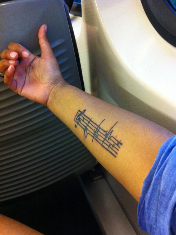 Music tattoo designs 61