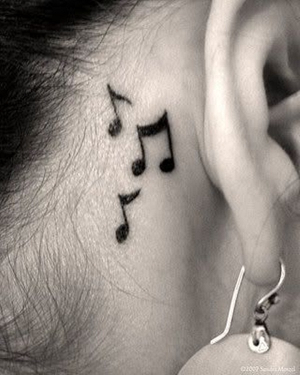 Music tattoo designs 62