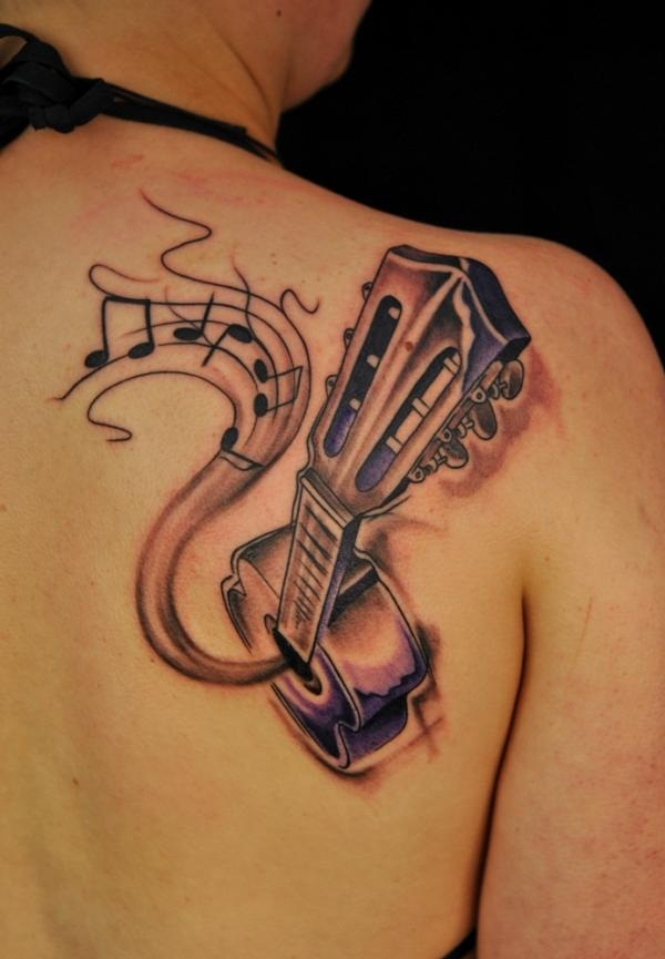 Music tattoo designs 65