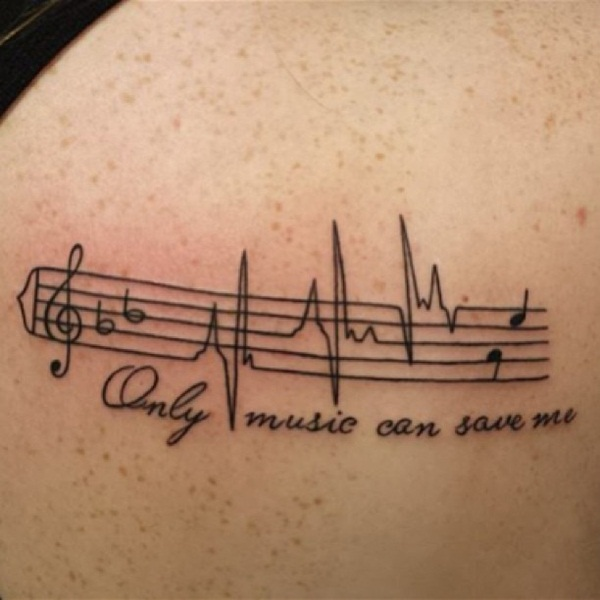 Tattoo Quotes Music: 101 Music Tattoo Designs To Ignite The Love For Music