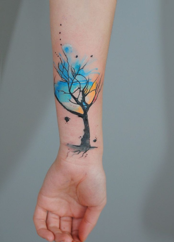 Nature Inspired tattoo designs26