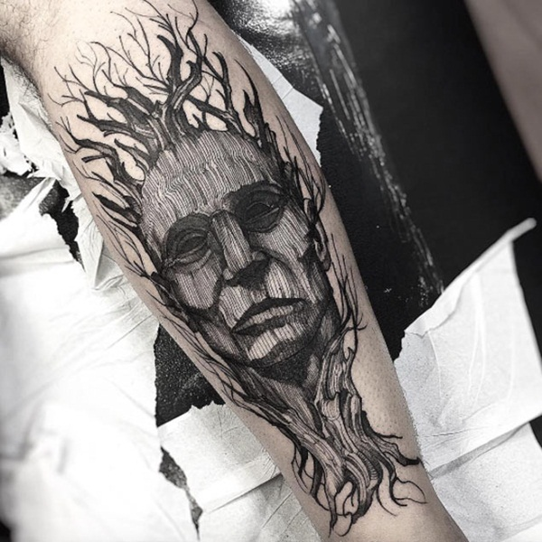 142980266 101 Inspiring Nature Inspired Tattoo Designs for Nature Lover