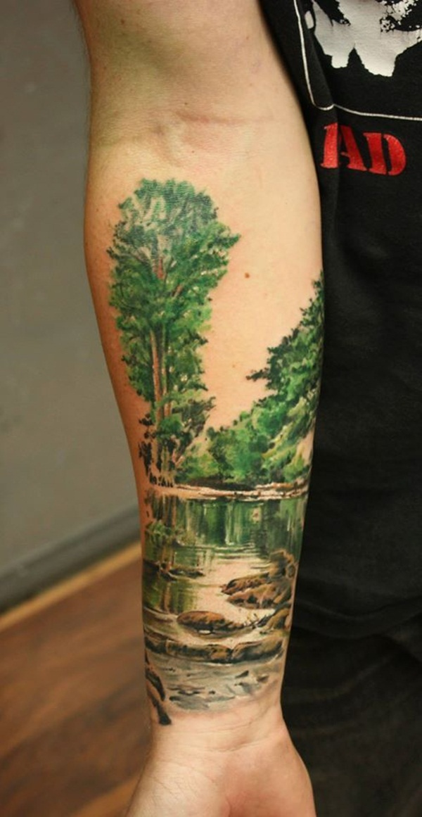 Nature Inspired tattoo designs55