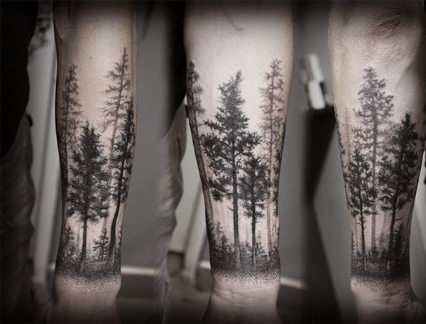101 inspiring nature inspired tattoo designs for nature lover. Black Bedroom Furniture Sets. Home Design Ideas