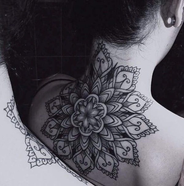 Neck Tattoo Designs and ideas11