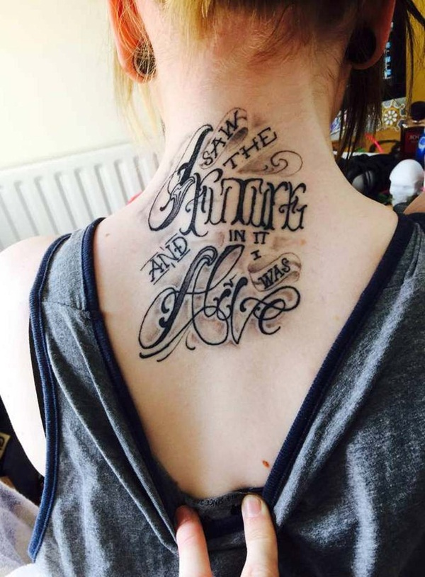 Neck Tattoo Designs and ideas16