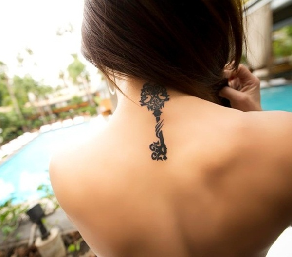 Neck Tattoo Designs and ideas22