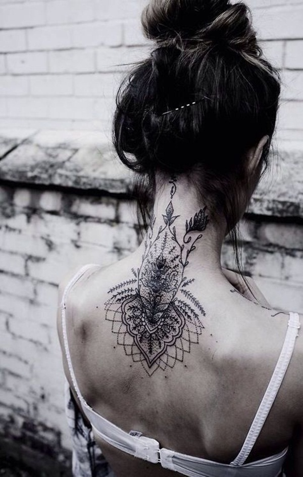 Neck Tattoo Designs and ideas26