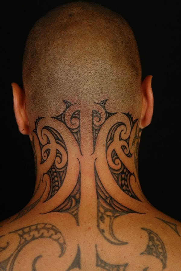 Neck Tattoo Designs and ideas35