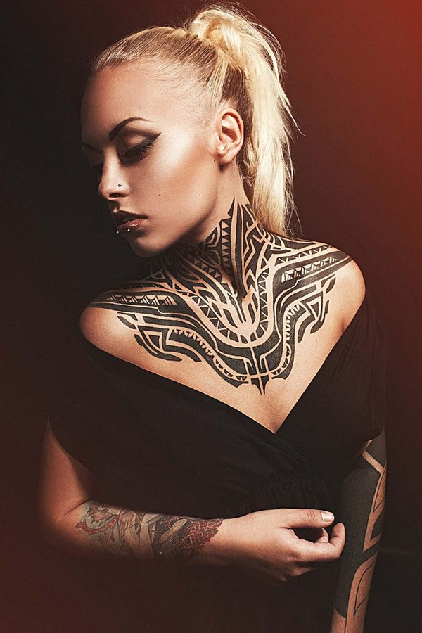 Neck Tattoo Designs and ideas42