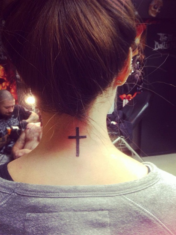 Neck Tattoo Designs and ideas43