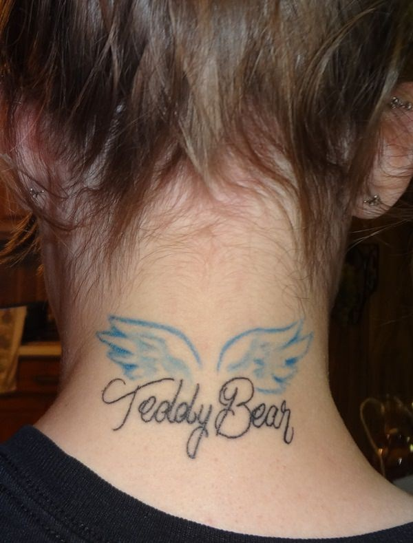 Neck Tattoo Designs and ideas5
