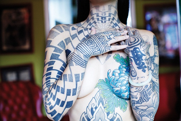 Neck Tattoo Designs and ideas59